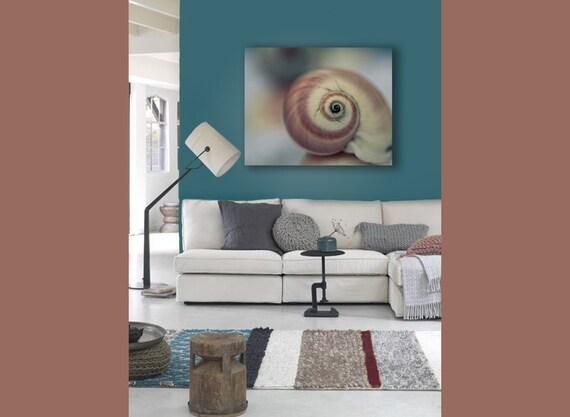 Beach House Canvas, Blue, Brown, Beige, Seashell, Canvas Wall Art, Beach Decor, Teal, 16x20 Canvas, Rustic, Nautical