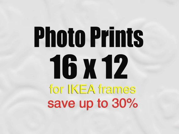 16x12 Prints for IKEA Frames, Large Wall Art, Custom Enlargement, 12x16 Photos