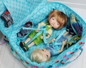 SALE SALE Travel Bag Sleeping Protective For Two Dolls Case Irrealdoll Lati Yellow Nikki Britt Pukifee Handcrafted Dolls 1/6 Bjd Turquoise