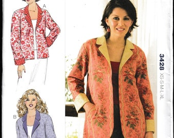 KWIK•SEW 3428 by Kerstin Martensson Women's Jackets