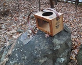 Wood ( fish bait box ) Cricket Box, Wooden Cricket Boat, Fishing Bait Box