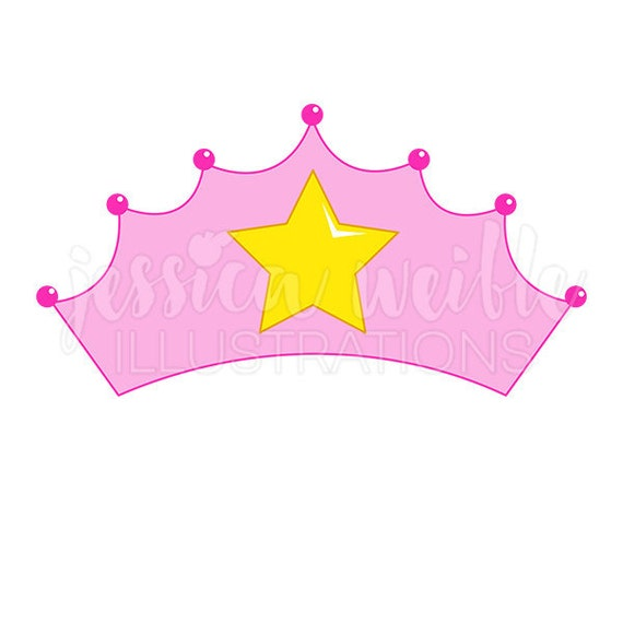 pink princess crown cute digital clipart princess crown clip art rh catchmyparty com Little Princess Clip Art Princess Mirror Clip Art