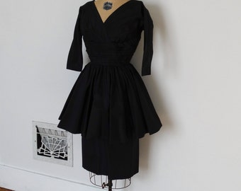 Vintage 50s Dress - 1950s Party Dress - The Victoria