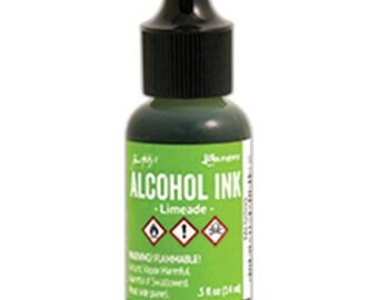 Tim Holtz Alcohol Ink LIMEADE Green, Lettuce New Color