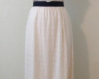 CLEARANCE Vintage peach wedding dress bridal gown faux wrap ruffle embroidered boho hobo romantic maxi full floor length sleeveless