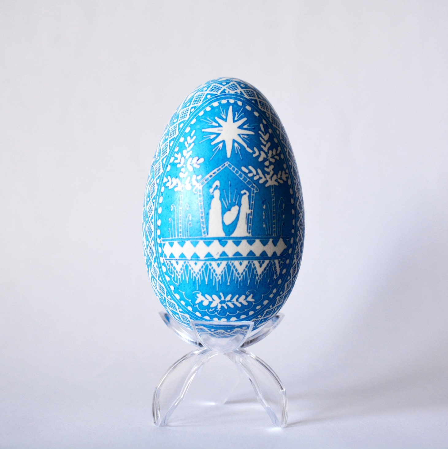 nativity scene of our lord jesus christ by ukrainianeastereggs