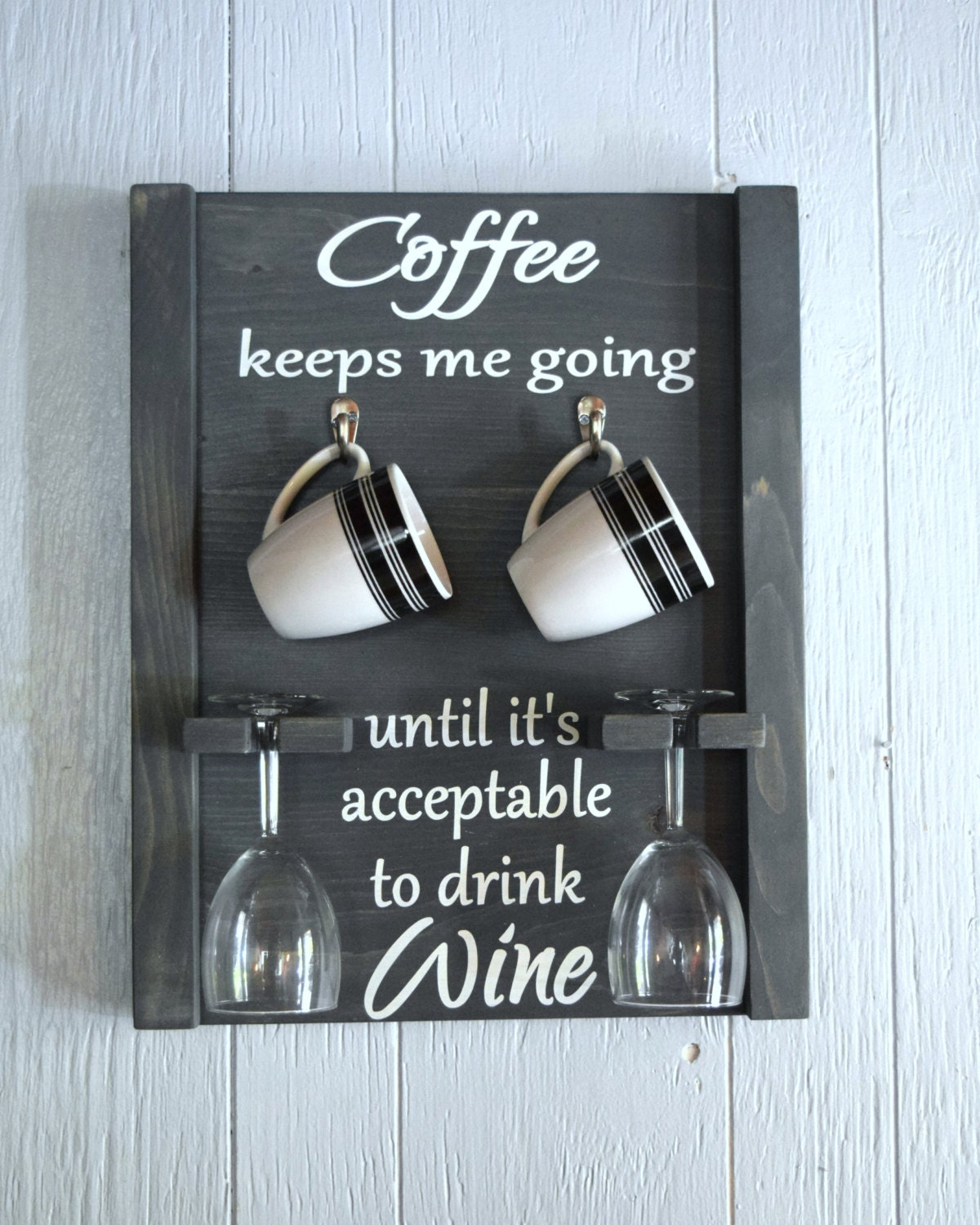 Coffee Mug And Wine Glass Holder Coffee Mug Rack Coffee