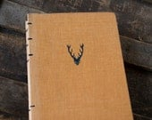 1949 ANTLERS Vintage Lined Notebook