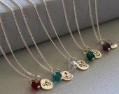 Zodiac Necklace, Sterling Silver Zodiac Jewelry, Bridesmaids Zodiac Gift, Celestial Personalized Gift, Sterling Silver Zodiac Necklace,