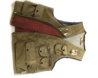 Vintage Seaway Fly Fishing Vest Size Large