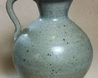 Stoneware Cruet with Celadon Glaze