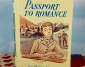 Passport to Romance Writing Journal  from Vintage Repurposed Romantic Teen Novel