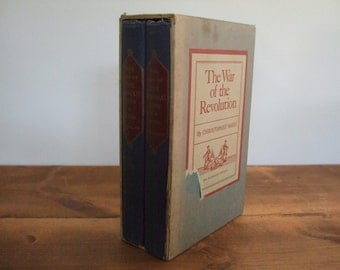 The War of the Revolution by Christopher Ward 1952 with Slipcase
