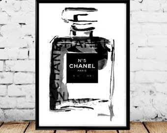 Vintage Chanel No. 5 Poster - Multiple Sizes