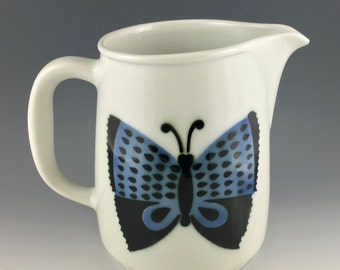 Kaj Franck for Arabia Finland large Butterfly Pitcher