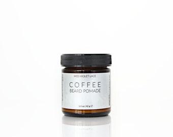 Coffee Beard Balm | Conditioning Cream For Facial Hair | 100% natural + vegan