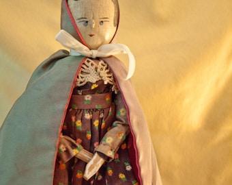 Vintage Peg Doll