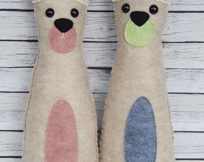 Boho Bear Plushie