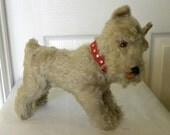 Steiff Tessie Schnauzer - Mohair Terrier - Terrier Dog  1968 to 1976 - Steiff Dog 4320/22