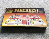 Vintage Parcheesi Deluxe Edition 1960s Board Game 100% Complete Selchow & Righter