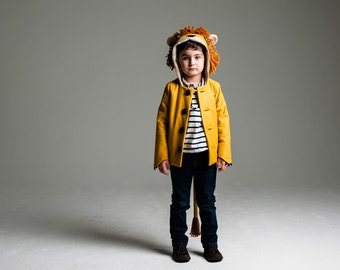 Lion Coat Sewing Pattern //Wild Things Book with Pattern CD by Molly Goodall//Baby and Toddler Halloween Costume