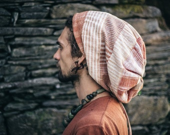 Rasta Hat from Khadi cotton ~ for Woman & Man