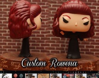Supernatural Rowena - Custom Funko pop toy
