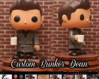 Supernatural MoL Bunker Dean Winchester - Custom Funko pop toy