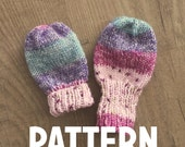 Basic Baby Thumbless Mittens Pattern