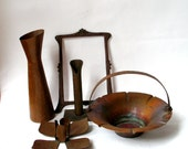 Curated Collection of Antique Arts&Crafts Style Copper - Home  Accessories