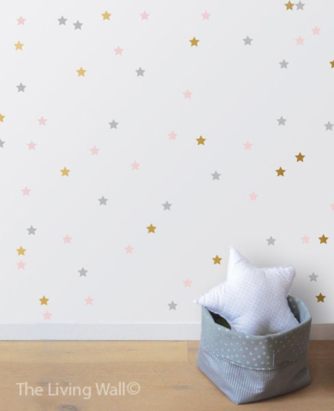 Stars wall sticker home decoration wall decals christmas accessories baby nursery decor Home decor wall decor australia