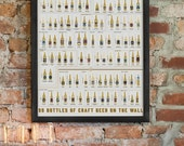 99 Bottles of Craft Beer on the Wall Scratch-Off Chart