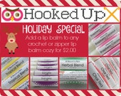 Holiday Special - Lip Balm Add-On - Lip Balm Deal - Stocking Stuffer Deal