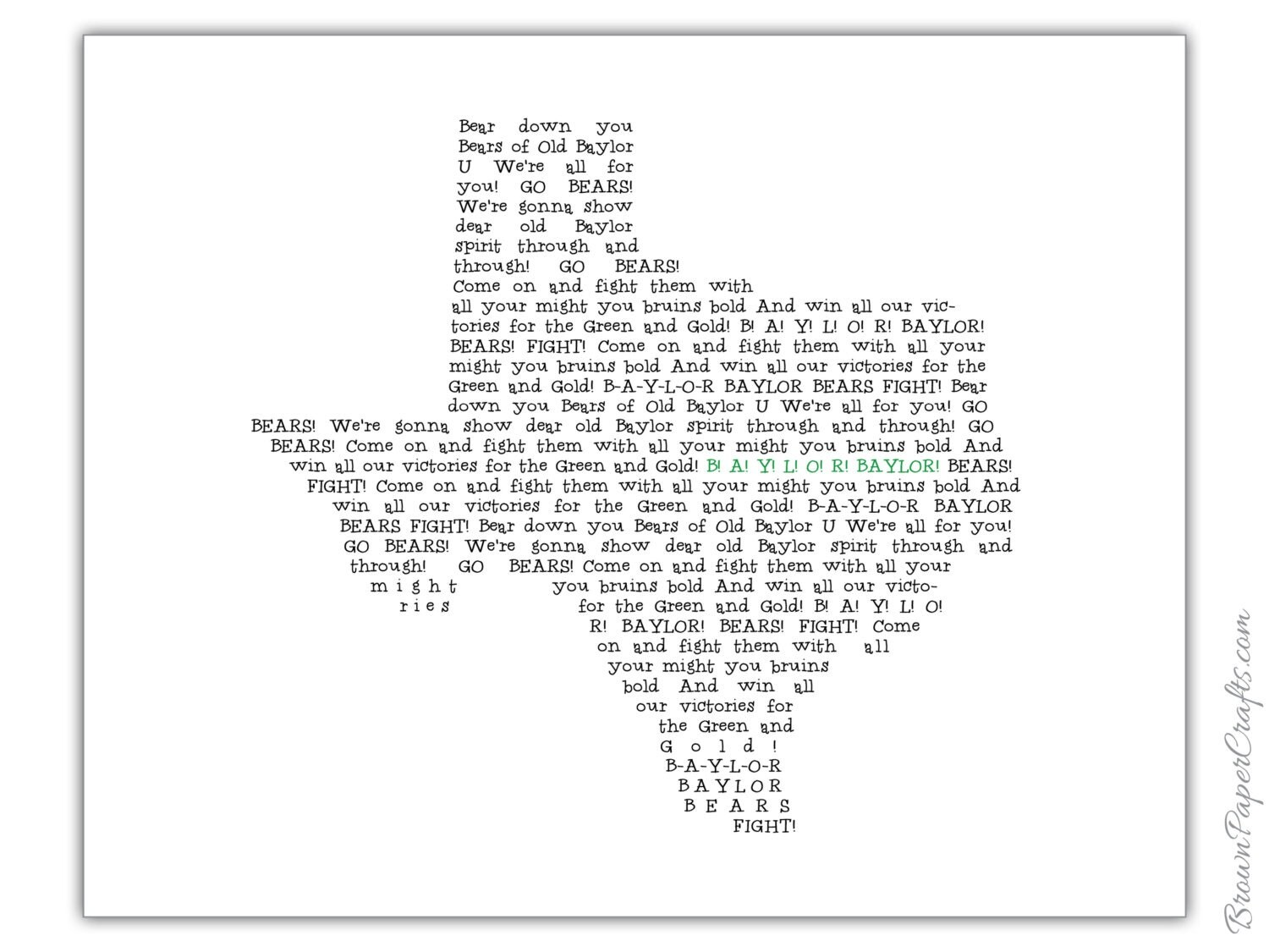 This is a photo of Epic Fight Song Lyrics Printable