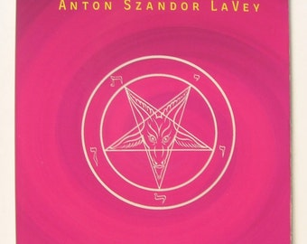 Satanic Witch - by Anton Szandor LaVey - Occult / Magic / Satanic / Church of Satan - classic