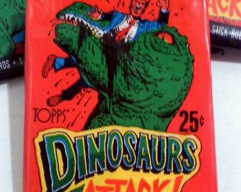 DINOSAURS ATTACK Trading Cards