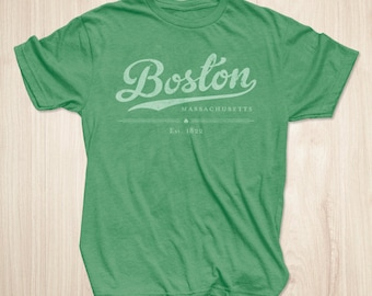 Boston Shirt in Vintage Heather Green
