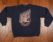 vintage Auburn University sweatshirt Tigers NCAA college football 80s college sweatshirt large L 1980 college sweatshirt crew neck
