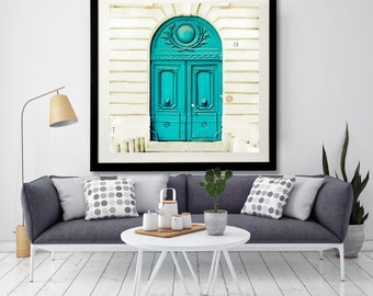 "Paris decor, door photography, Paris door print, Paris art print - ""A Paris Facade"""