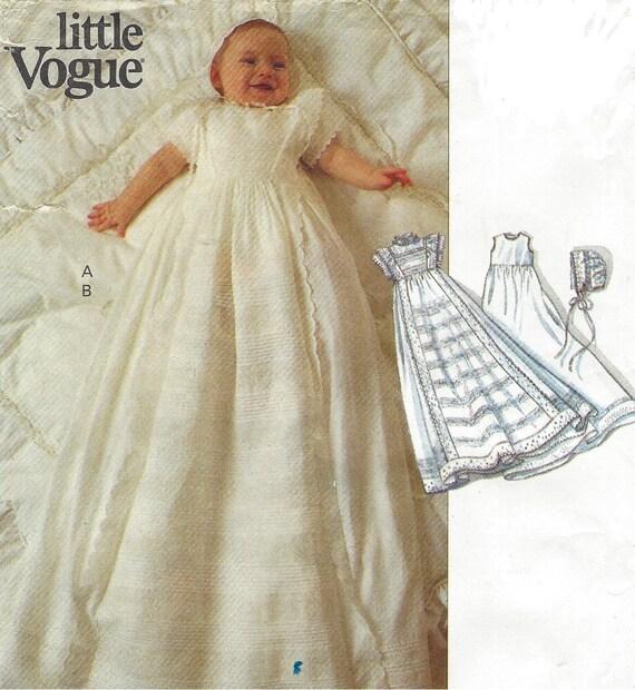 90s teresa layman babies christening dress bonnet amp slip little vogue