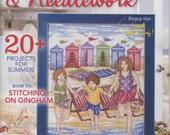 Reserved for Carla - Summer 2016 cross stitch patterns magazine : Cross-Stitch & Needlework 4th of July Emma Congdon Stitchrovia embroidery