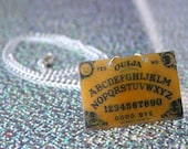 Ouija Board Necklace - Plastic Charm Necklace