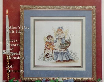 Stoney Creek Collection Magazine LITTLEST ANGELS May/June 1996 - Counted Cross Stitch Patterns