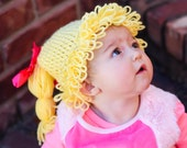 Cabbage Patch Costume Hat Wig