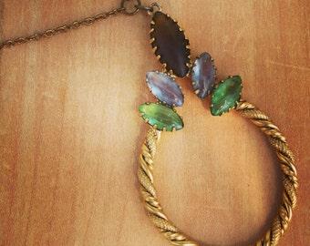 Vintage Charm Statement Necklace