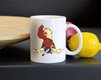 """Doctor Who David Tennant """"Her Name Was Rose"""" Tenth Doctor Drinking Mug"""