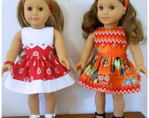 1804a Valspierssews Doll Clothes Pattern, Snugfit Add-on Bibs, Fits the American Girl Dolls, Combine with 1804. Aug 2016