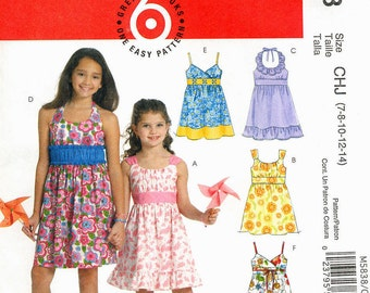 Children's and girls' dresses