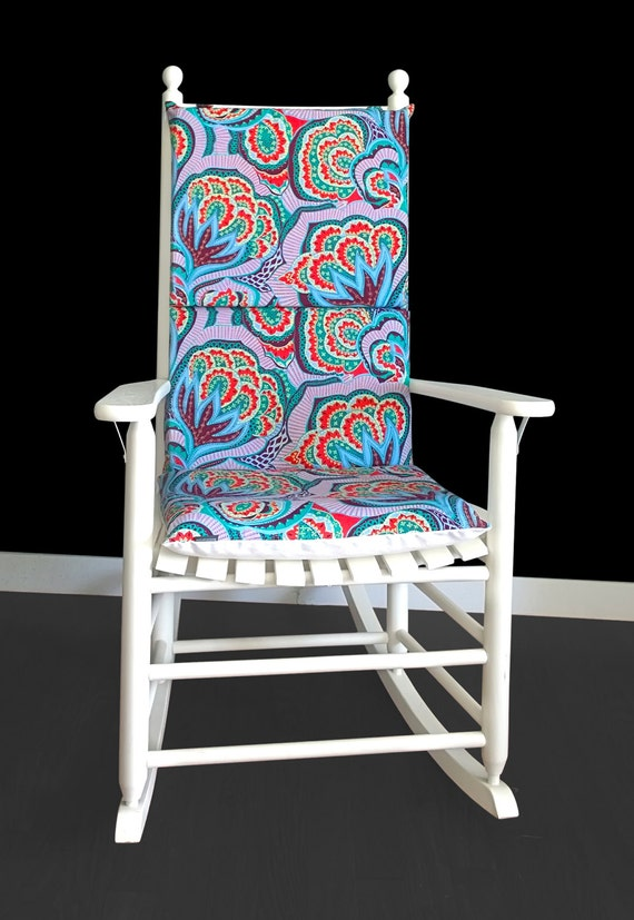ON SALE Rocking Chair Cushion Amy Butler Hapi Oasis