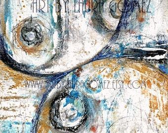 """La Union hace la Fuerza / Unity is Strenght"""" -Abstract Art-Original and/or Print by Laura Gomez-Modern ContemporaryArt"""
